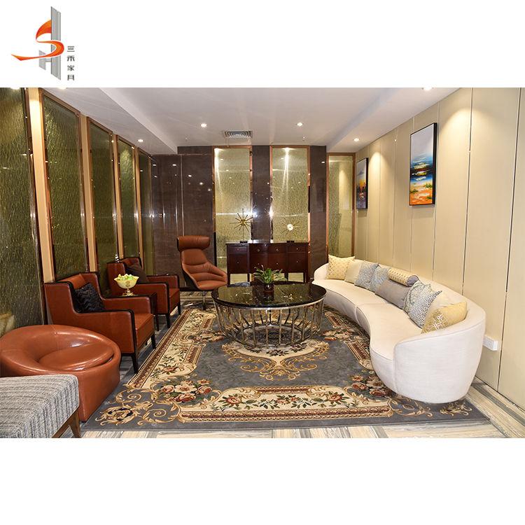 الصين تصنيع نيس الشمال نمط فندق غرفة المعيشة الأثاث ، غرفة المعيشة الحديثة الأريكة
