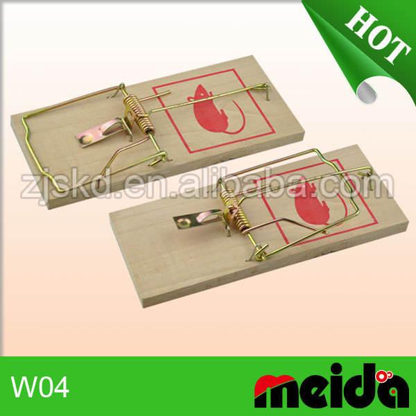 Meida W04 control de plagas rata producto de madera trampa