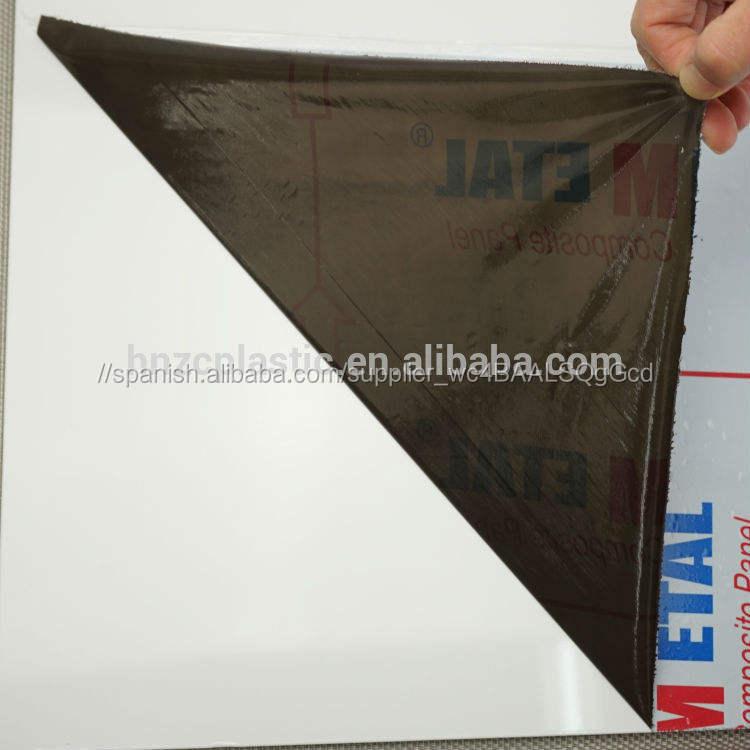 A prueba de rayas transparente <span class=keywords><strong>cinta</strong></span> reflectante negro película para los países acp