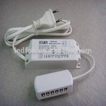 12v molex светодиодный драйвер коробка параллельно или последовательно 6 отверстие распределения разъем коробки