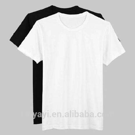 Pure white black t-shirt for unisex t-shirts guanggu shan short-sleeved cotton round collar drawing wholesale blank t shirts