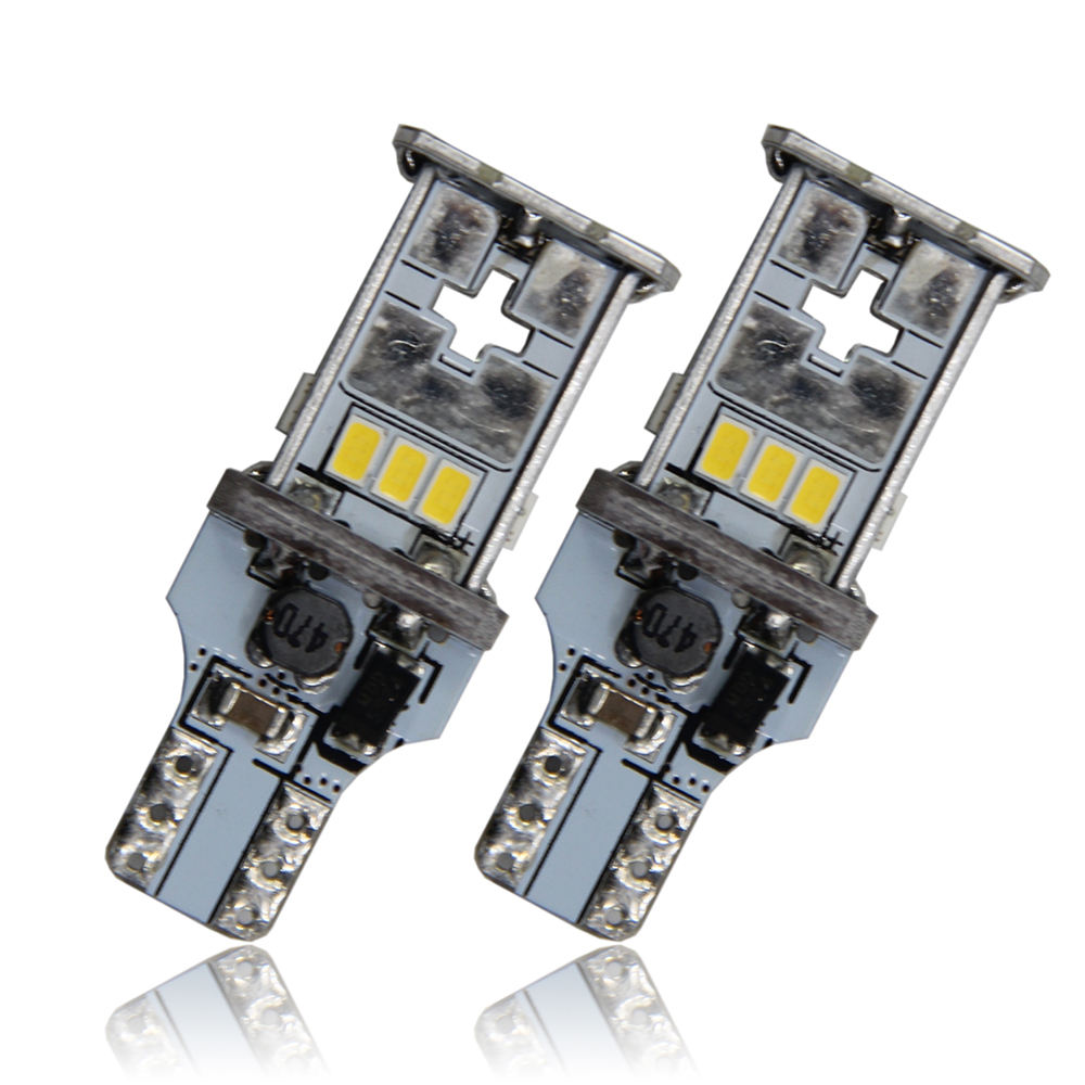 ADT High quality 1000LM Reverse LED Bulbs T15 921 Canbus Error Free Backup Lights with SMD3020 auto Reverse LED Bulbs