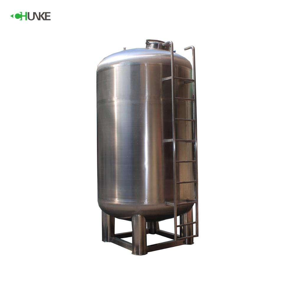 CHUNKE Disegno SS 304 Verticale 5000 litri Depuratore di Acqua Serbatoio di Stoccaggio Prezzo