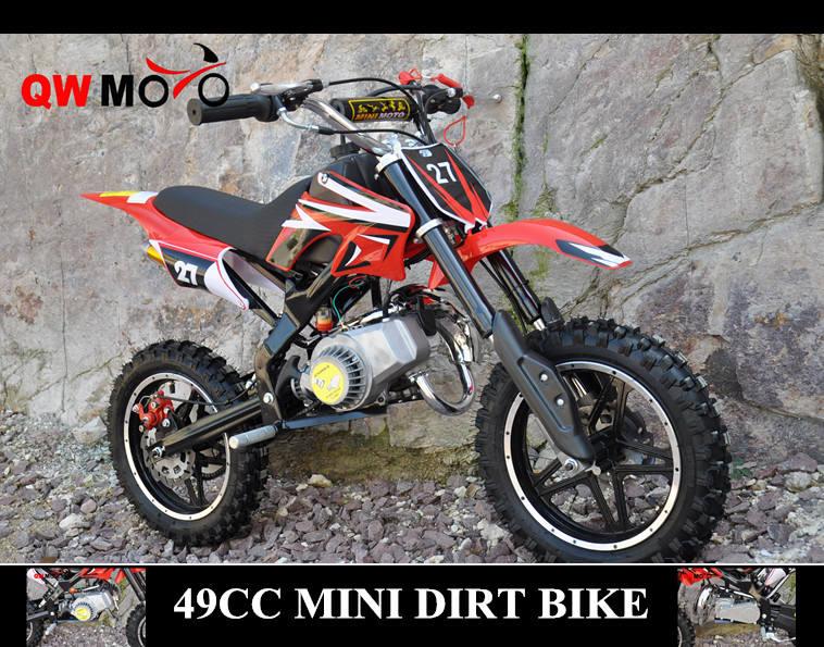 <span class=keywords><strong>Qwmoto</strong></span> ce off road uso bolsillo 49cc 2 tiempos bici de la suciedad 49cc pocket moto cross