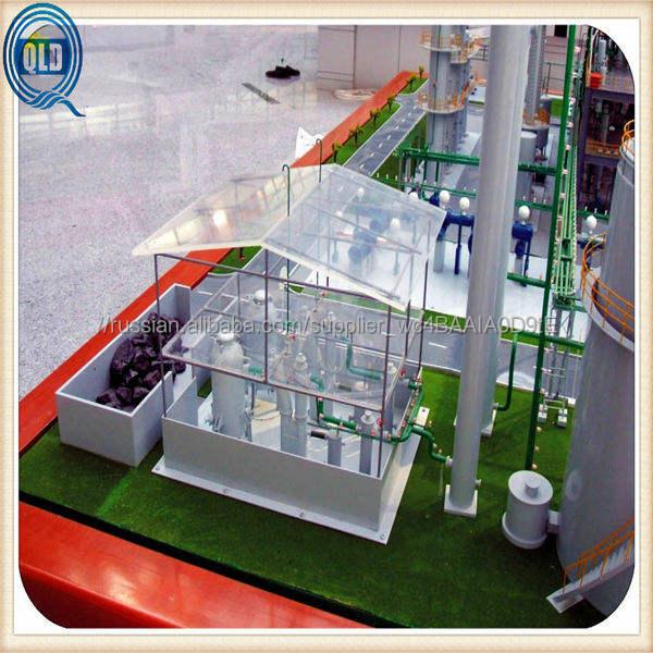 Промышленные модели с деталь семинар строительство макета / семинар завод модель строителя