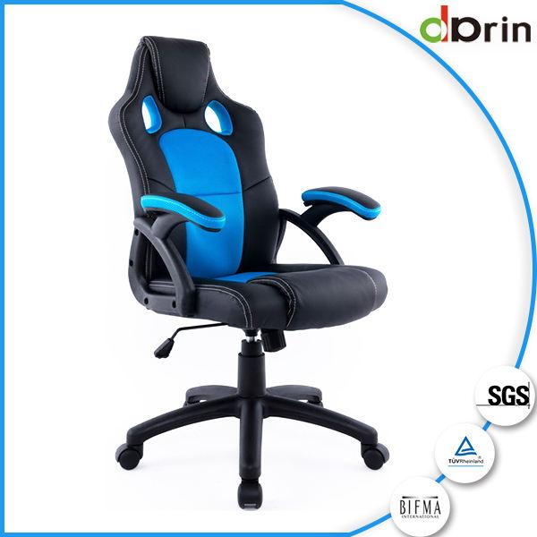 Venta directa de la fábrica estilo de carreras hogar silla de oficina ergonómico