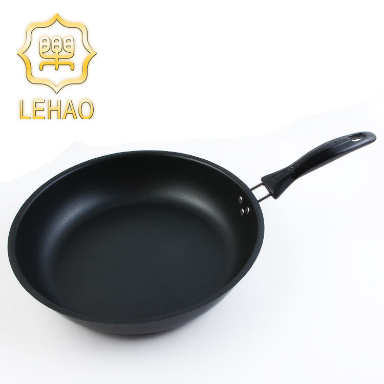 32 cm más barato alto rendimiento hierro abastecido sartén antiadherente utensilios de cocina sartén mosca sartén antiadherente