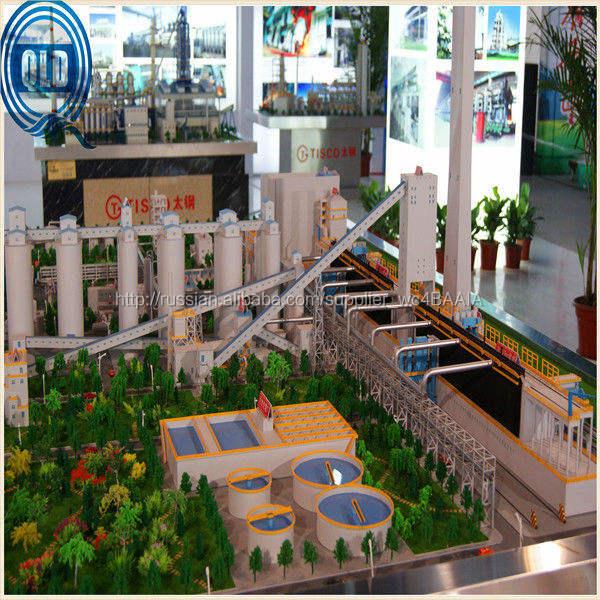 Реалистичная промышленные масштабные модели для выставки дисплей / промышленное миниатюрная модель / завод завод модель