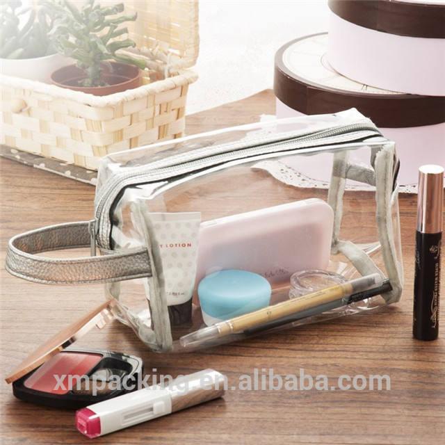 مشمع البولي ساخن البيع حقيبة مستحضرات تجميل مصغرة مع غطاء بولي يوريثين ل هدية و التجميل التعبئة