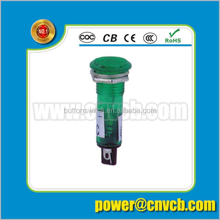 ZS110 CE RoHS 10mm mini led <span class=keywords><strong>luz</strong></span> indicadora <span class=keywords><strong>de</strong></span> alarma ascensor indicador <span class=keywords><strong>luz</strong></span> piloto 24 v dc
