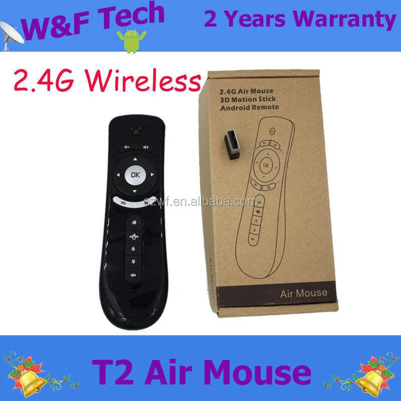 Fly Air Mouse T2 2.4 Г Беспроводной <span class=keywords><strong>3D</strong></span> Дистанционного Зондирования Android Дистанционного <span class=keywords><strong>Воздуха</strong></span> Мыши
