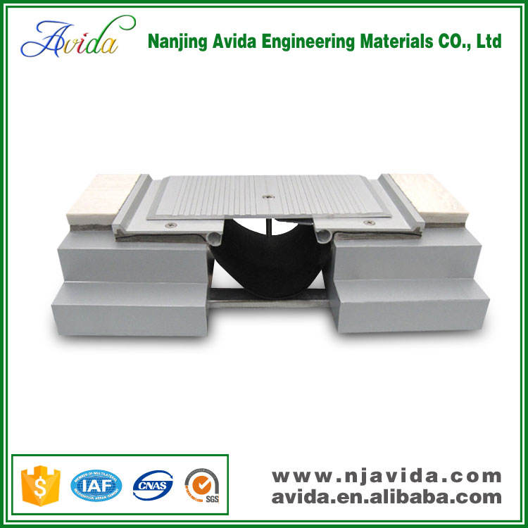 <span class=keywords><strong>Perfil</strong></span> De Aluminio Acanalado hormigón Común para la Construcción de Junta de Dilatación