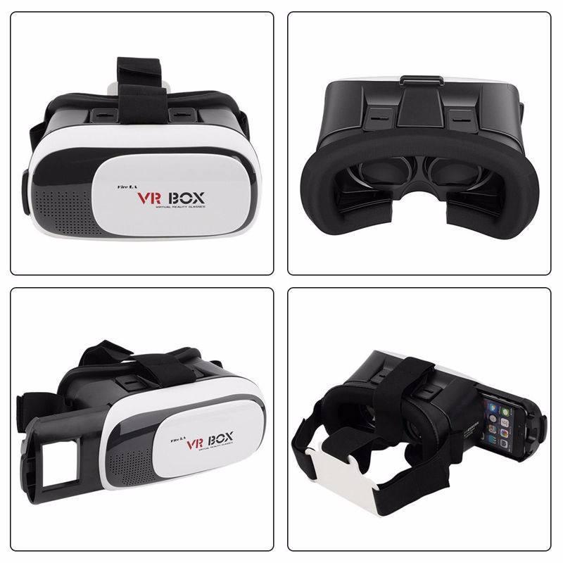 2016 Profesional CAJA <span class=keywords><strong>de</strong></span> VR II 2 <span class=keywords><strong>Gafas</strong></span> 3D Versión <span class=keywords><strong>de</strong></span> Realidad <span class=keywords><strong>Virtual</strong></span> 3D Video Glasses + Bluetooth Remoto