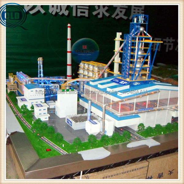 Промышленные строительство макета шкала модель промышленные миниатюрная модель