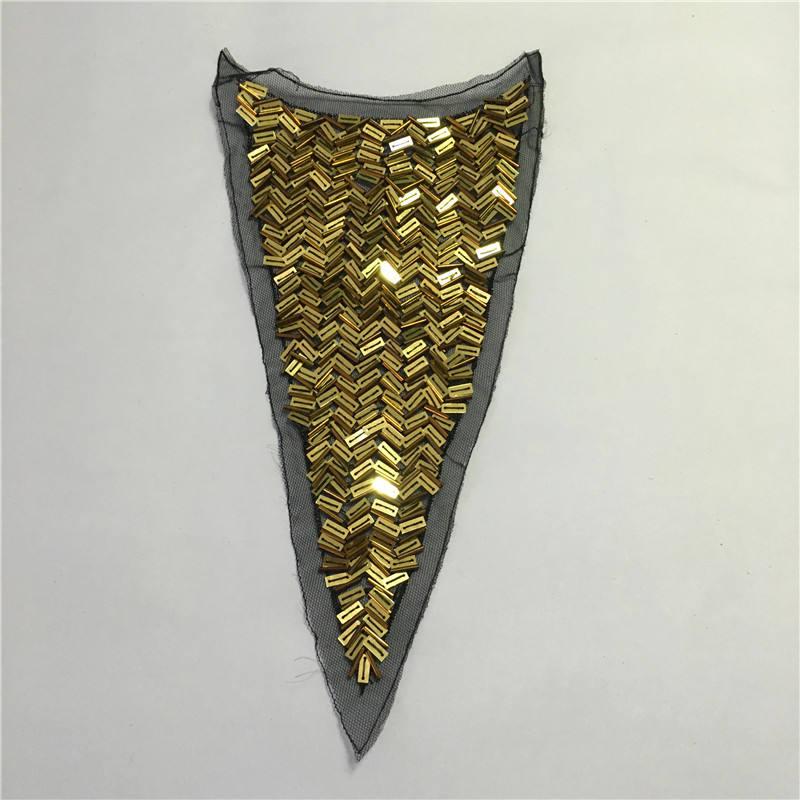 Konfeksiyon aksesuarları düzeltir metalik aplikler özel payet <span class=keywords><strong>yama</strong></span> afrika giysiler için