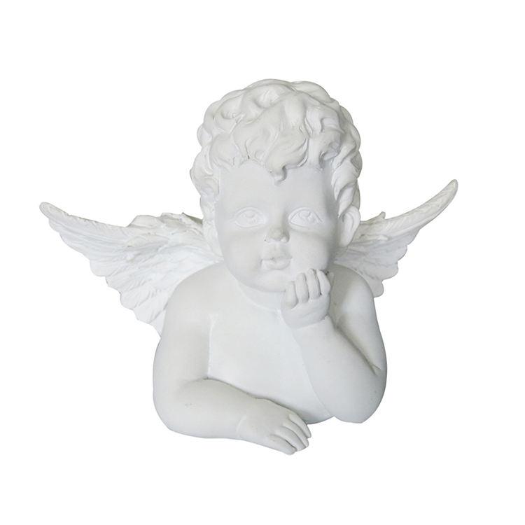 Ofício da resina Collectible <span class=keywords><strong>Pequena</strong></span> Estátua Do Anjo Estatueta