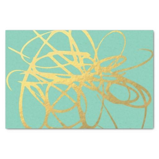 Белая бумага с золотой логотип печать шелковые ткани, бумаги для Wrap Одежда