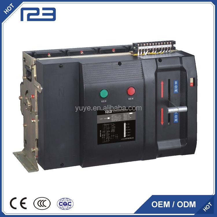 PC Classe YES1 série Q type Double source d'alimentation auto-interrupteur ATS