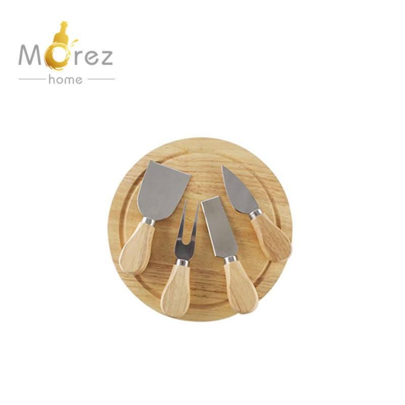 Morezhome vente chaude Gourmet 5 Pcs Voyage À <span class=keywords><strong>Fromage</strong></span> avec Planche à Découper