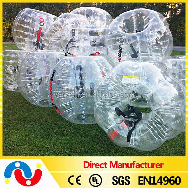 Gros top qualité personnalisé PVC / TPU clairement gonflable <span class=keywords><strong>acrylique</strong></span> bubble ball à pas cher prix