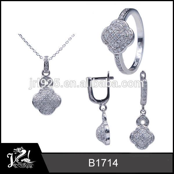 De gros bijoux, bijoux de mariage ensemble, cristal swarovski bijoux fantaisie ensemble