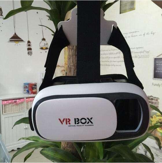 Nuevo estilo Plástico ABS caja 2.0 gamepad bluetooth gafas 3D de realidad virtual VR auricular