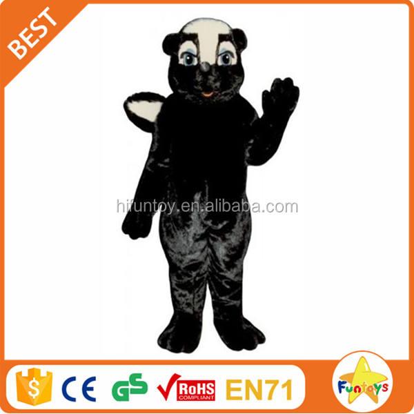 Funtoys CE Hacen Mephitine Animal Traje de La Mascota de Adultos