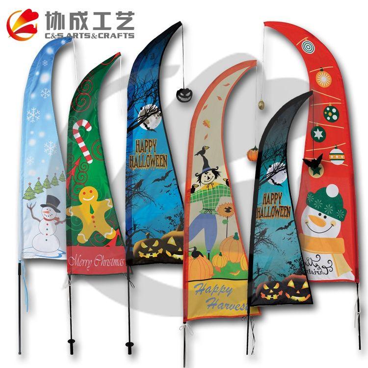 Рекламные ветер пользовательский флаг печати, баннер, флаг