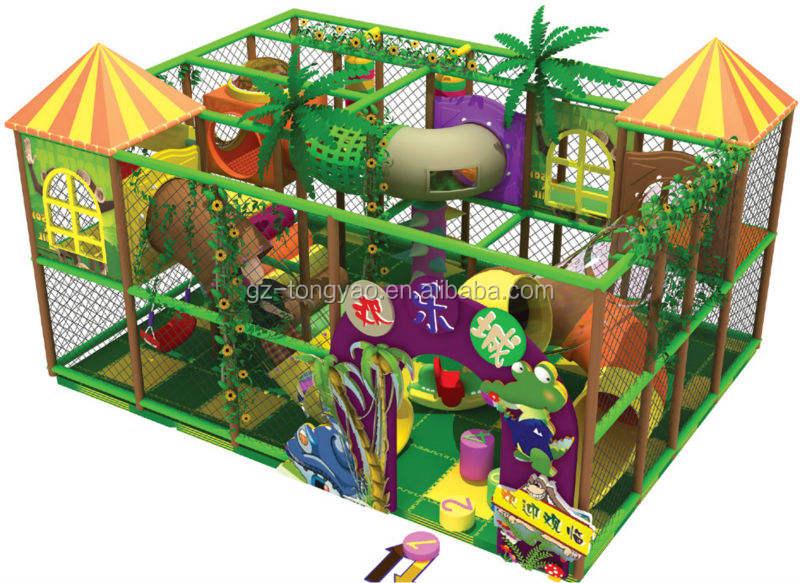 Джунгли Тема Крытая Площадка Оборудование Индивидуальные <span class=keywords><strong>Леса</strong></span> для детей, играющих