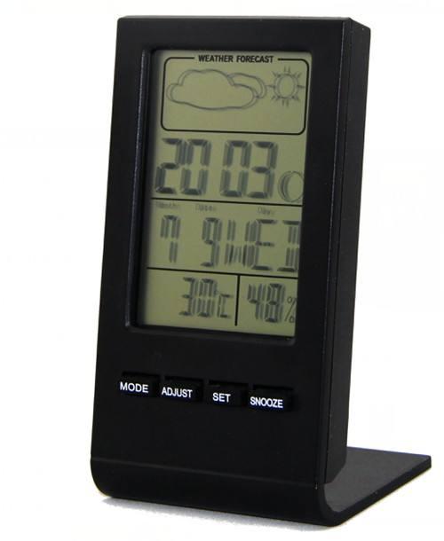 Yaratıcı tasarım toptan fiyat masaüstü elektronik termometre <span class=keywords><strong>hava</strong></span> İstasyonu ile