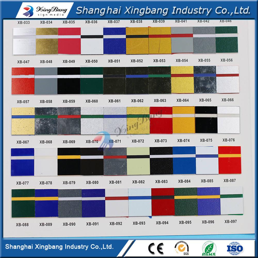 60 x 120 cm ABS matériau ABS gravure laser feuille / conseil / plaque