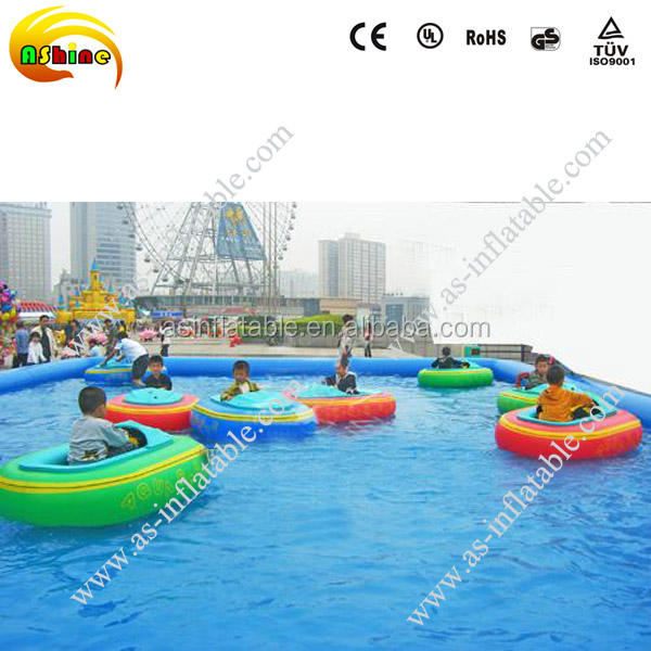 Vivid design best seller inflatable lake toys adult aqua bumper boat for sale