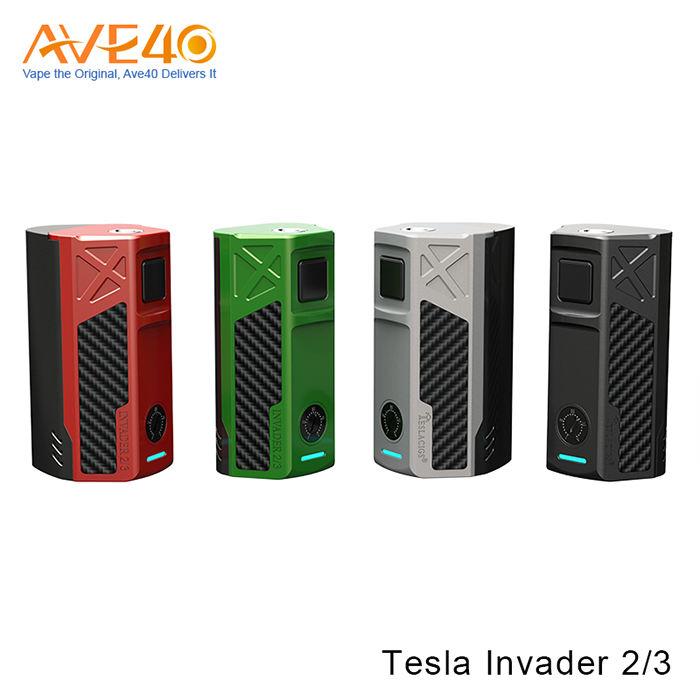 Alibaba Nhanh Duy Nhất Cơ Quan Sản Phẩm Mới E Thuốc Lá Box Mod Tesla Invader 2/3 Từ Ave40