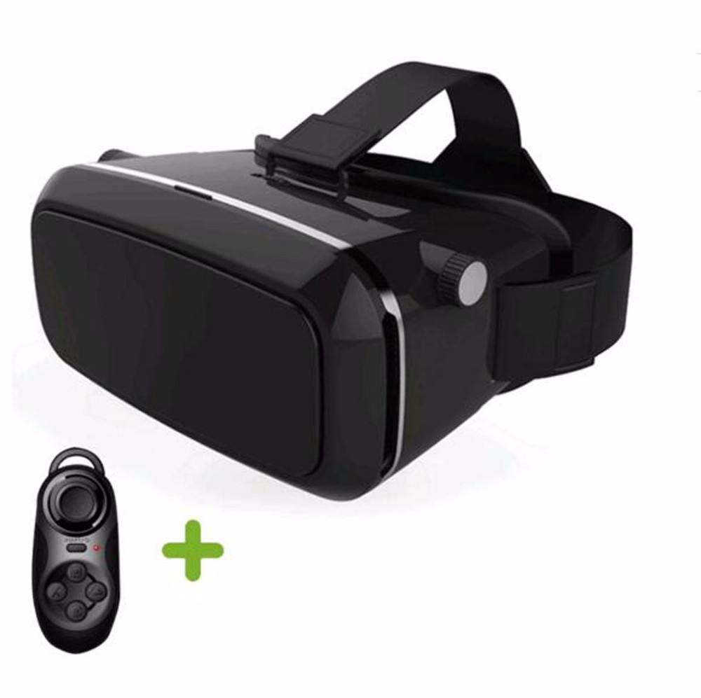 """Cartón Gafas 3D Real! Caja Adjustsble VR 3D Movie Game Gafas de Realidad Virtual Para 4.7-6.0 """"Teléfono"""