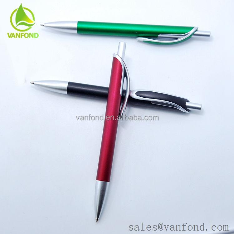 China Impressão Do Logotipo Clique Caneta Promocional caneta mon blanc