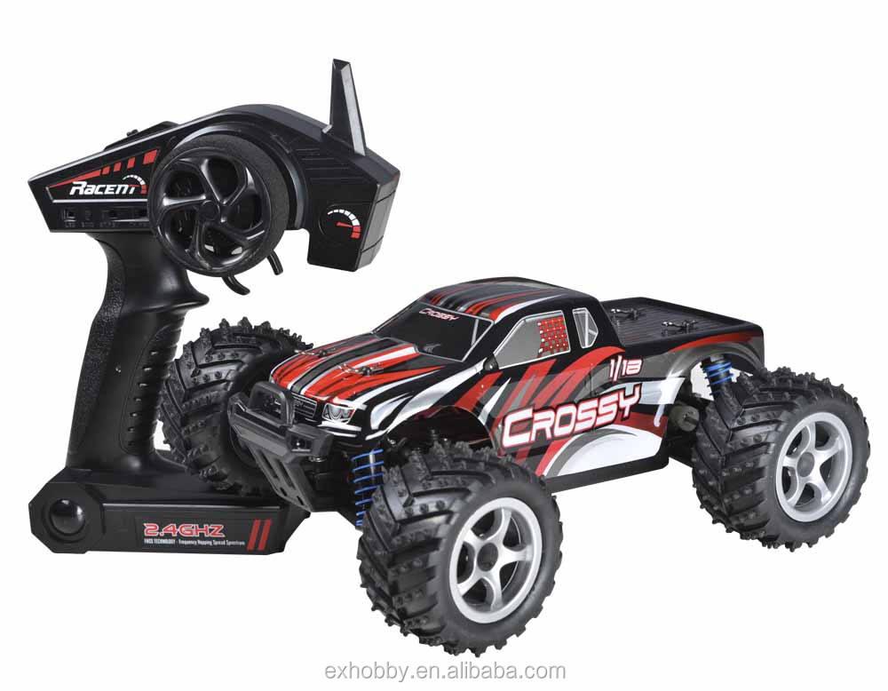 785-1 struttura di plastica a buon mercato frequenza 2.4 GHz red toy rc camion ad alta velocità