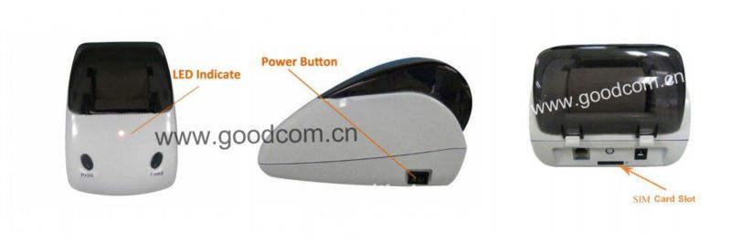 Goodcom GT4000S fácil de operar Small impresora de recibos de recepción / Entrada Impresión