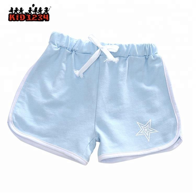 Новые повседневные спортивный стиль хлопковые шорты для девочек