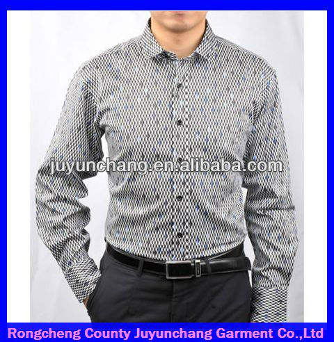 2013 مكتب جديد مصمم أزياء الرجال القميص