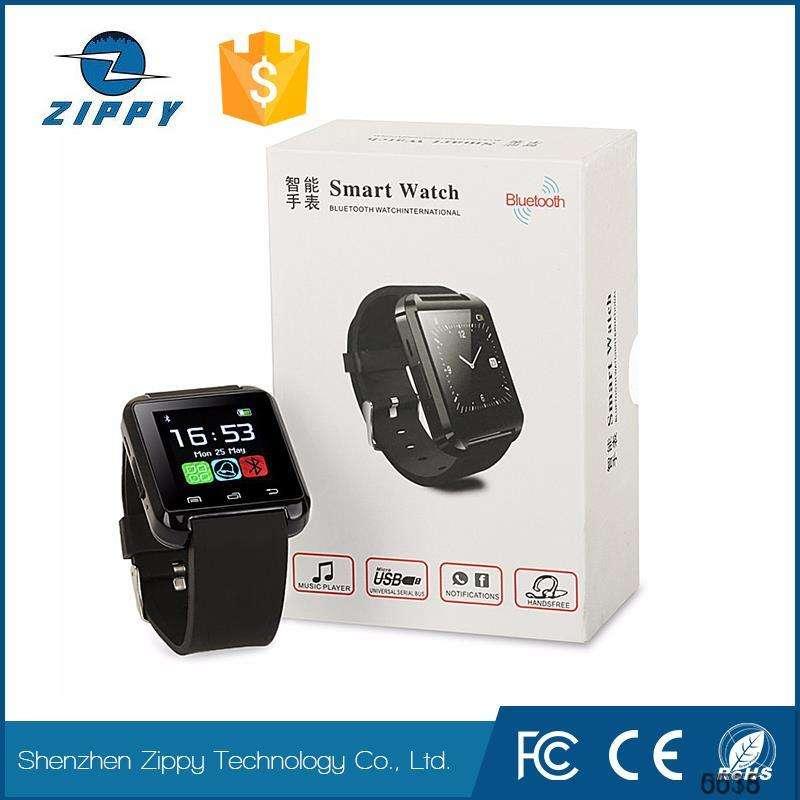 工場熱い販売プロモーションmp3プレーヤーブルートゥース腕時計