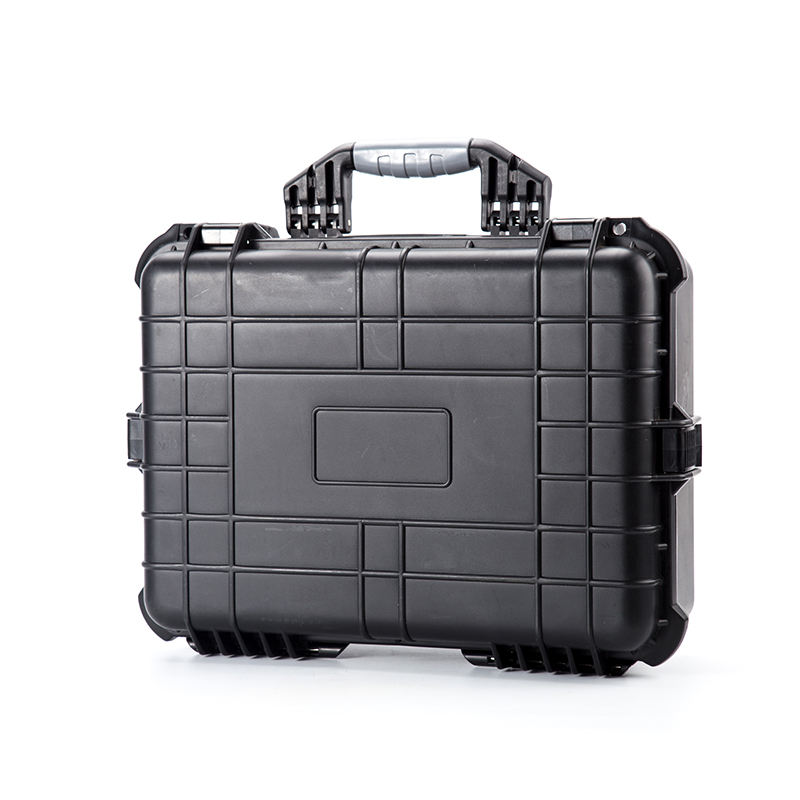 Hard custom pp plastic waterproof computer/PC electronic device storage tool case with foam insert