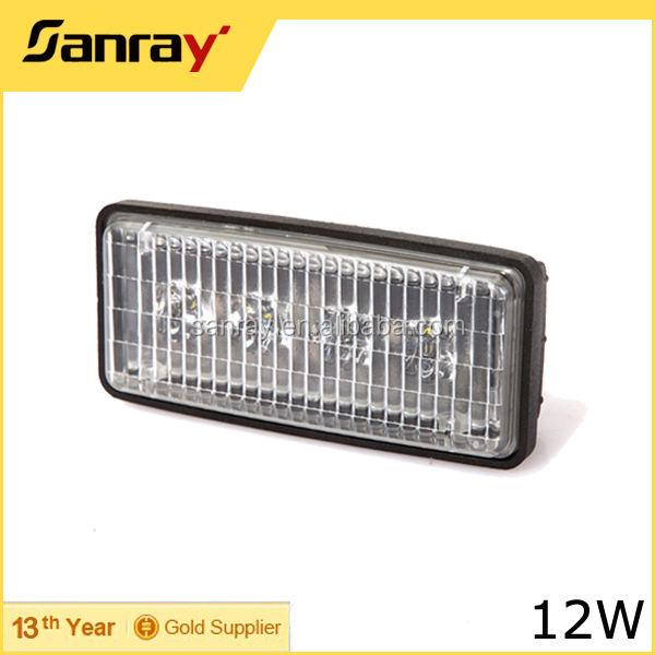 12 Wát 4 DẪN Lái Xe đèn LED đèn pha/ánh sáng làm việc cho Nông Nghiệp máy kéo/led far ara tavan sis lambas 4x4
