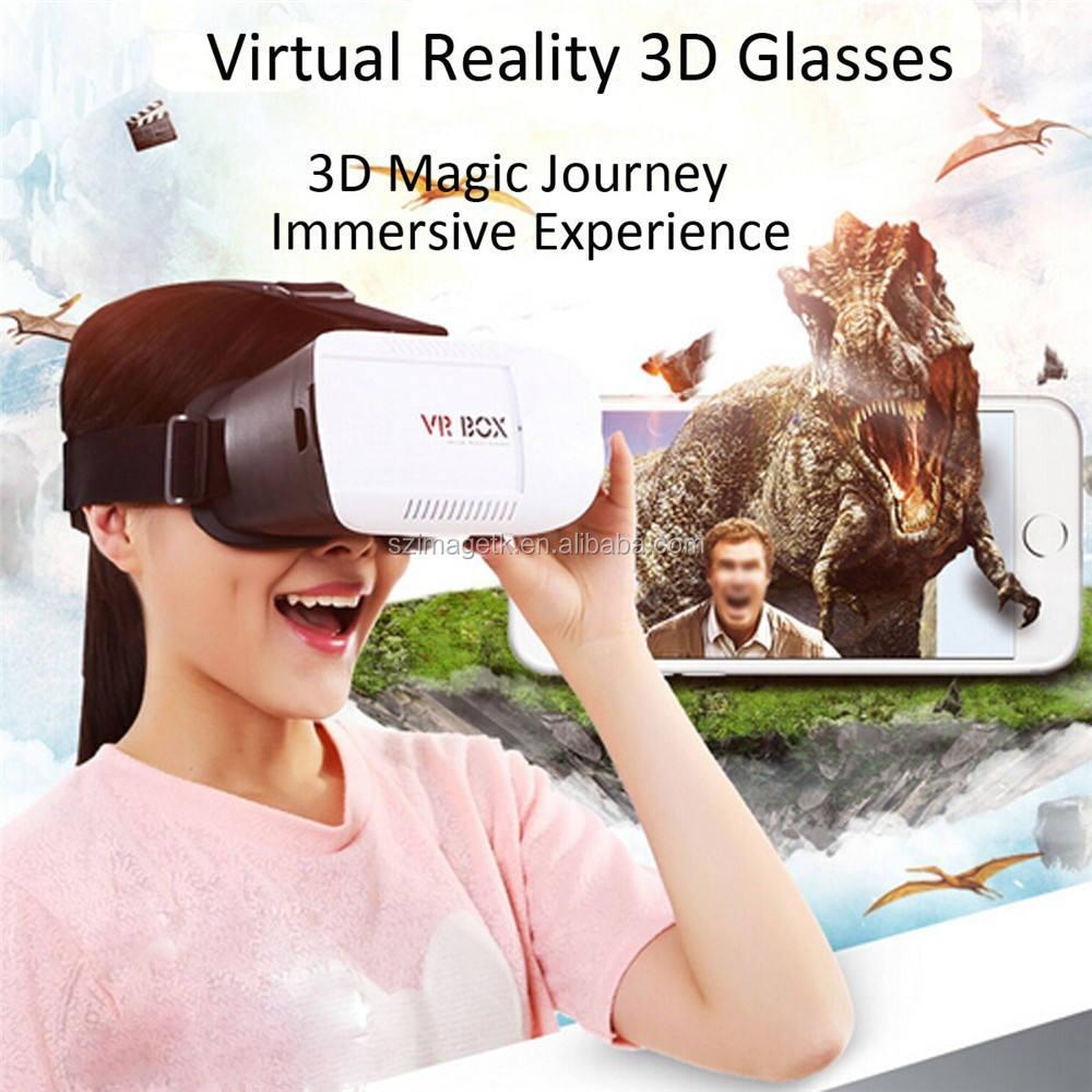 Versión mejorada VR Realidad Virtual Auriculares teléfono caso 3D Juego Video Movie Gafas