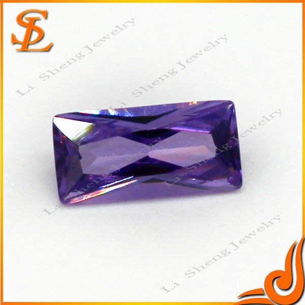preço de fábrica e ame loose gemstone melhor venda wuzhou emerld cut aaa cz