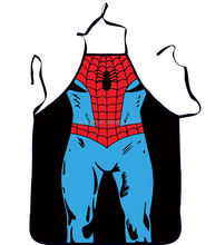 Adults Super Hero Series Digital Printing Apron Jokes