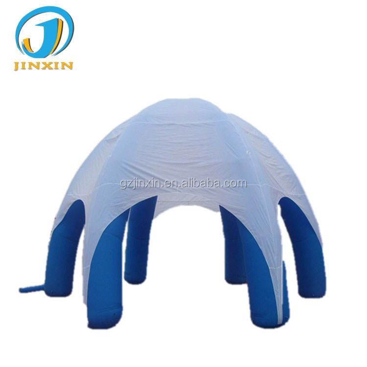 Profesional inflable feria tienda fabricante gigante inflable Dome tienda de araña para la venta