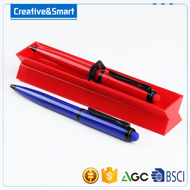 Ningbo suprimentos 0.5mm caneta esferográfica caneta de luz caneta de toque de tela