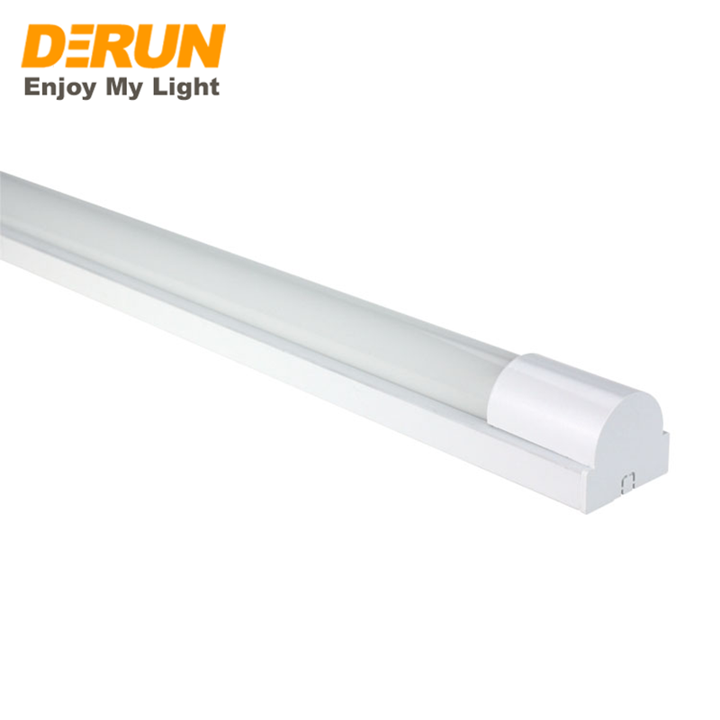 IP65 Surface Mounted T8 LED Integrated Tube Light Fitting 60cm 120cm Metal For Metro Office Supermarket CE RoHS , LTL-T8INT-AG