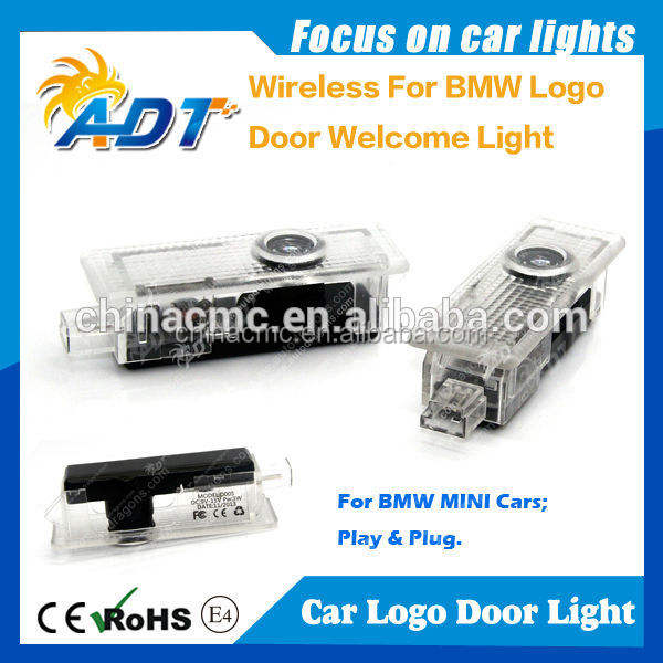 Новый беспроводной подключи и играй LED авто дверь лазерная логотип свет для bmw логотип
