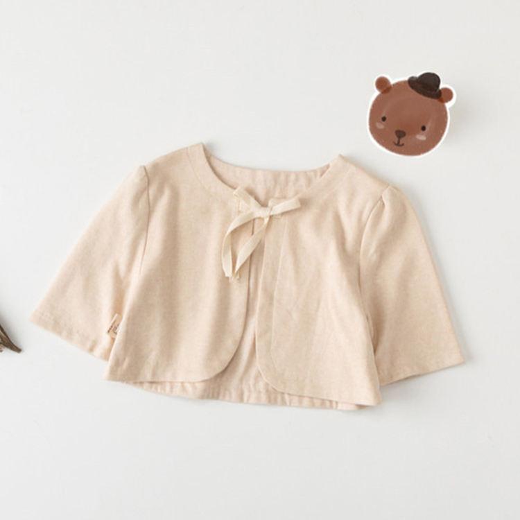 Новый стиль обычный цвет китайский стиль Новорожденный ребенок дна верхняя одежда